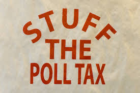 It's Almost Like A Poll Tax